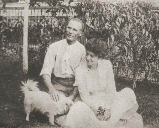 Fannie and Mershell soon after their marriage in 1919.