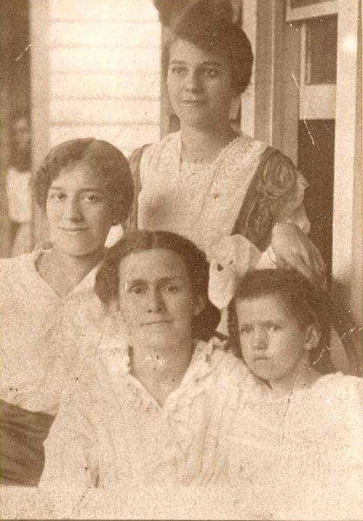 """Jennie Allen Turner and Daughters"""