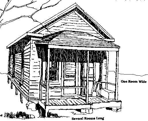 """jennie's shot gun house"""