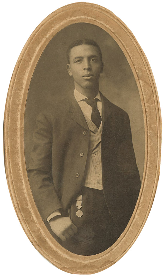 My grandfather, Albert B. Cleage - 1909. About the time he graduated from Knoxville College.