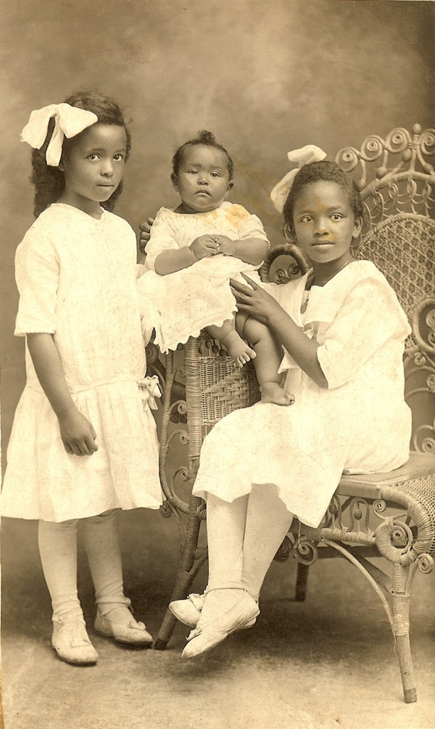 Alberta, Ola and Beatrice Cleage. Juanita's older sisters. 1919 Athens, TN.