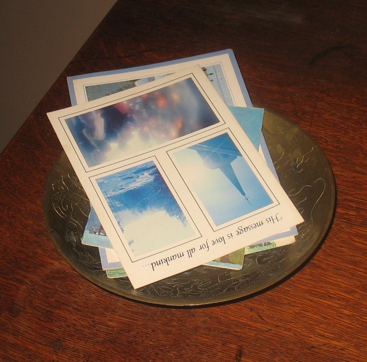 """""""Cards in Chinese Bowl."""""""