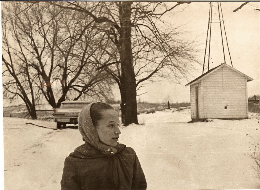 """Kris at Old Plank about 1962"""