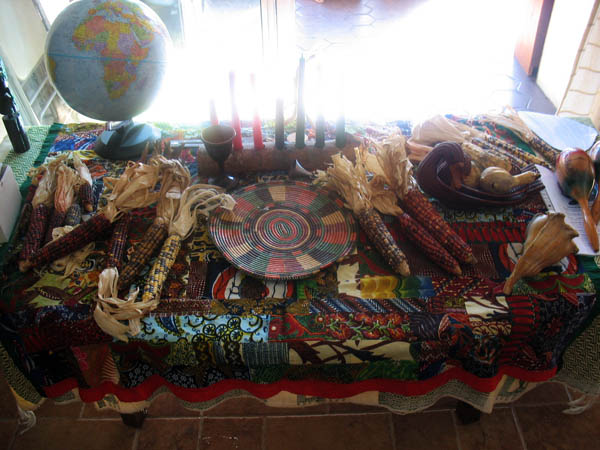 """Atlanta Kwanzaa Table"