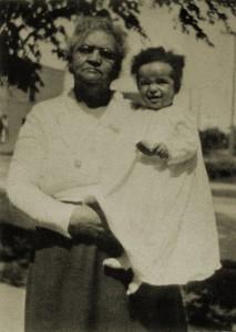 Celia Rice Cleage Sherman with grand daughter Barbara Cleage.