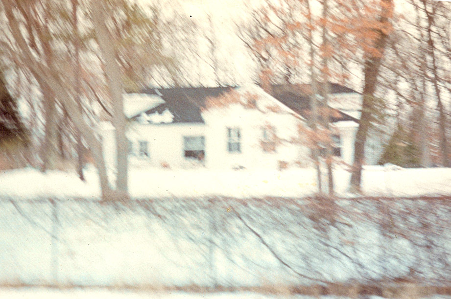 """Idlewild house in winter."""