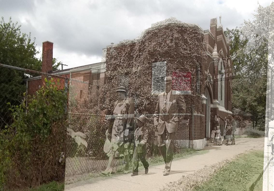 """""""St Marks, Detroit 1953"""""""