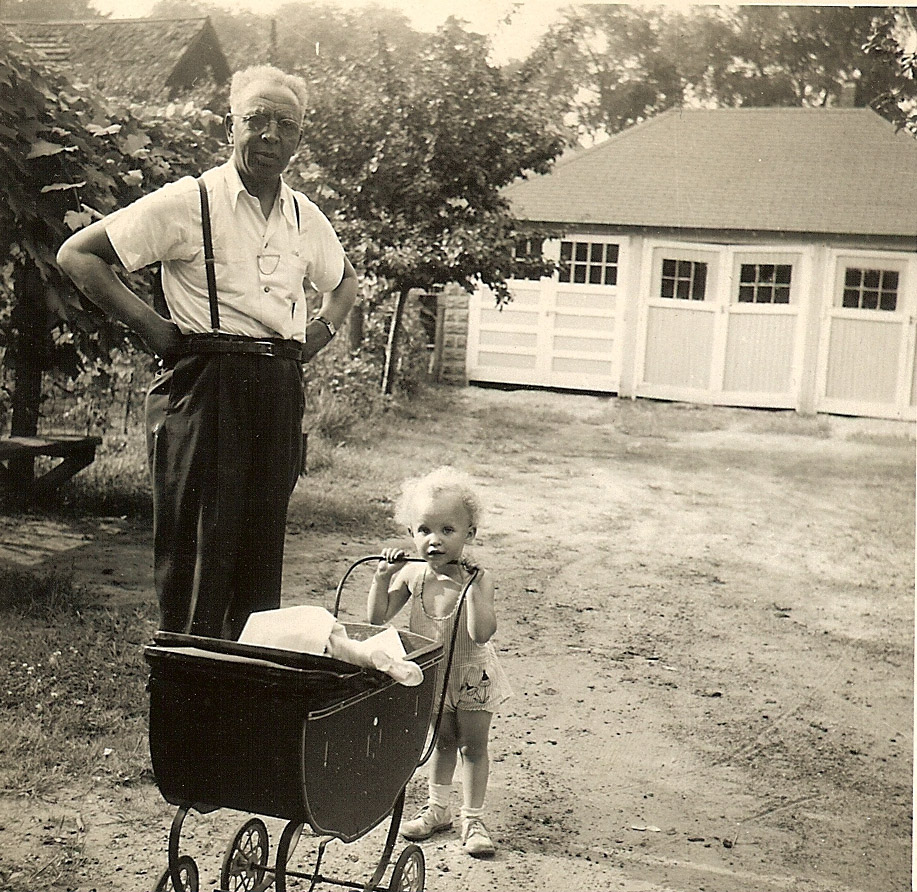 Me and my grandfather - 1948.