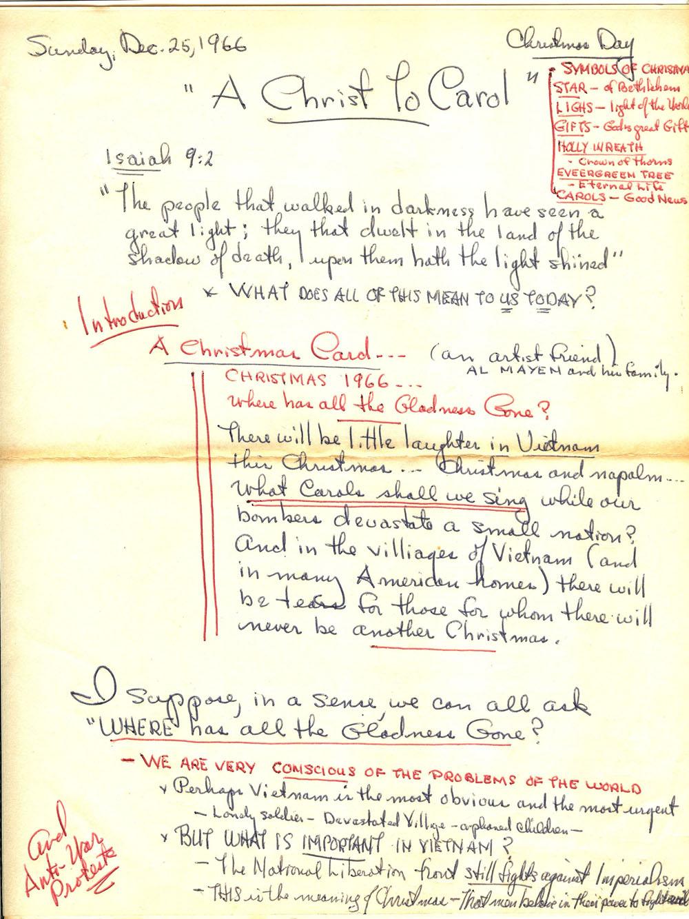 Sermon_notes_xmas_1966*