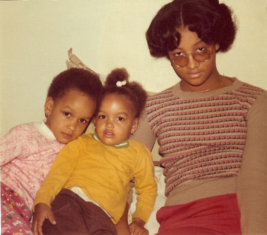 Jilo, Ife and Deborah Williams.