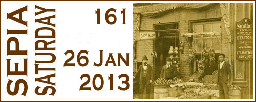 Sepia Saturday 161 Header