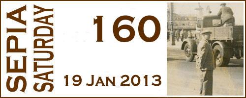 Sepia Saturday 160 Header