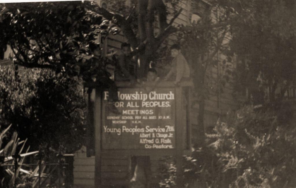 church sign- san francisco