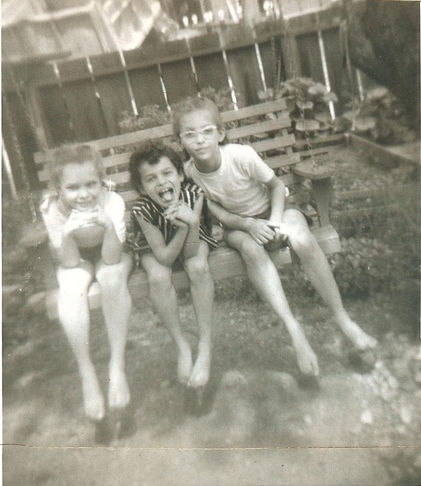 Pearl, Barbara and Kristin.