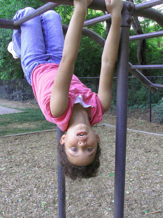 Sydney upside down.