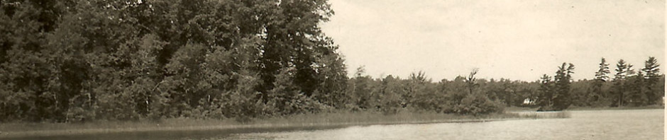 On Lake Idlewild – Sepia Saturday #193