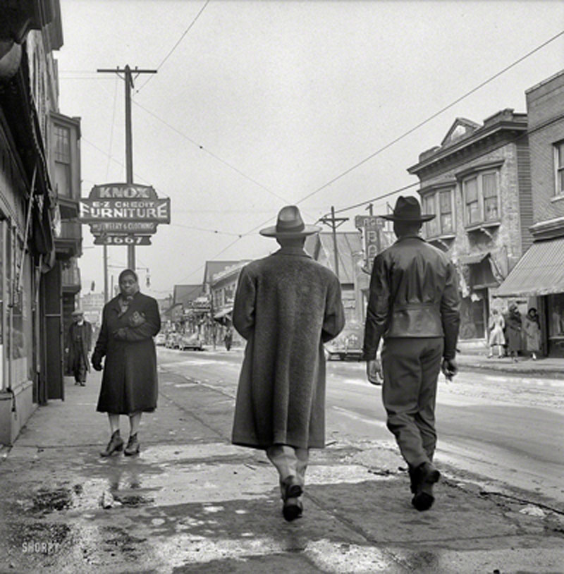Hastings Street, Detroit 1941