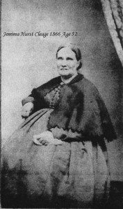 Jennimia Hurst Cleage 1866 age 52