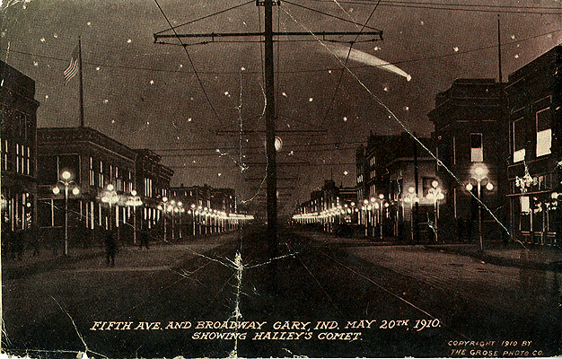 GaryIndiana-BroadwayAtNight05-1910-SS