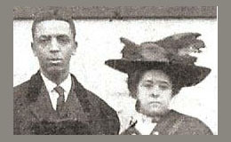 My grandparents - Albert B. Cleage & Pearl D. Reed in 1909.