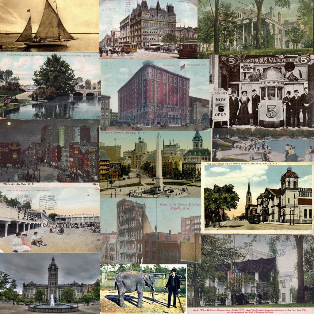 Some sights to see in Buffalo NY in 1909.