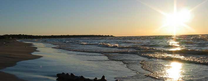 Lake Huron Ipperwasy beach