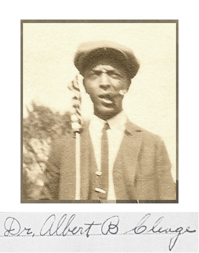 My paternal grandfather, Dr. Albert B. Cleage Sr. He attended the Athens Academy in Athens TN, Knoxville College and the Indiana Medical School in Indianapolis, IN.