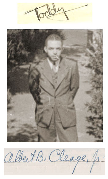 My father Albert B. Cleage Jr. His nickname was Toddy and he often signed his letters home Toddy. He attended Wingert elementary, Northwestern High, Wayne State in Detroit and Oberlin University in Ohio.