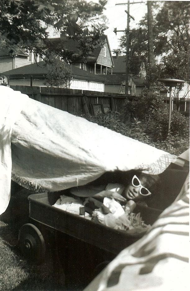 1958 June barbara tent