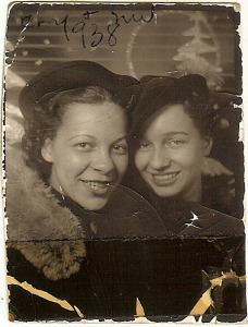 Connie Stowers and Mary V.