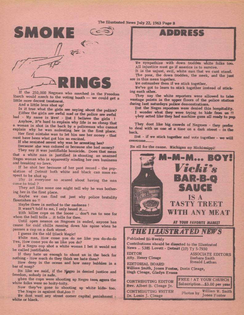 illustrated news smoke rings blog