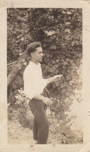 Henry Cleage at the Meadows in July 1939.