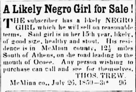 likely negro girl