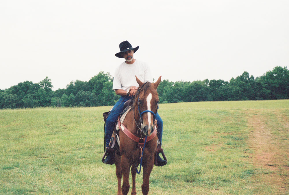Warren riding in recent times.