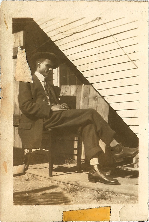 Mystery friend of my grandfather Mershell C. Graham.
