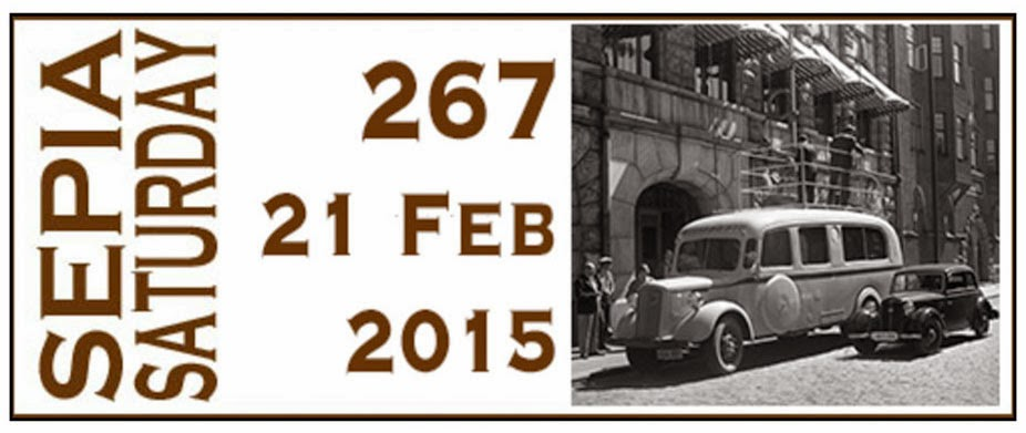 For more Sepia Saturday posts from around the world, click!