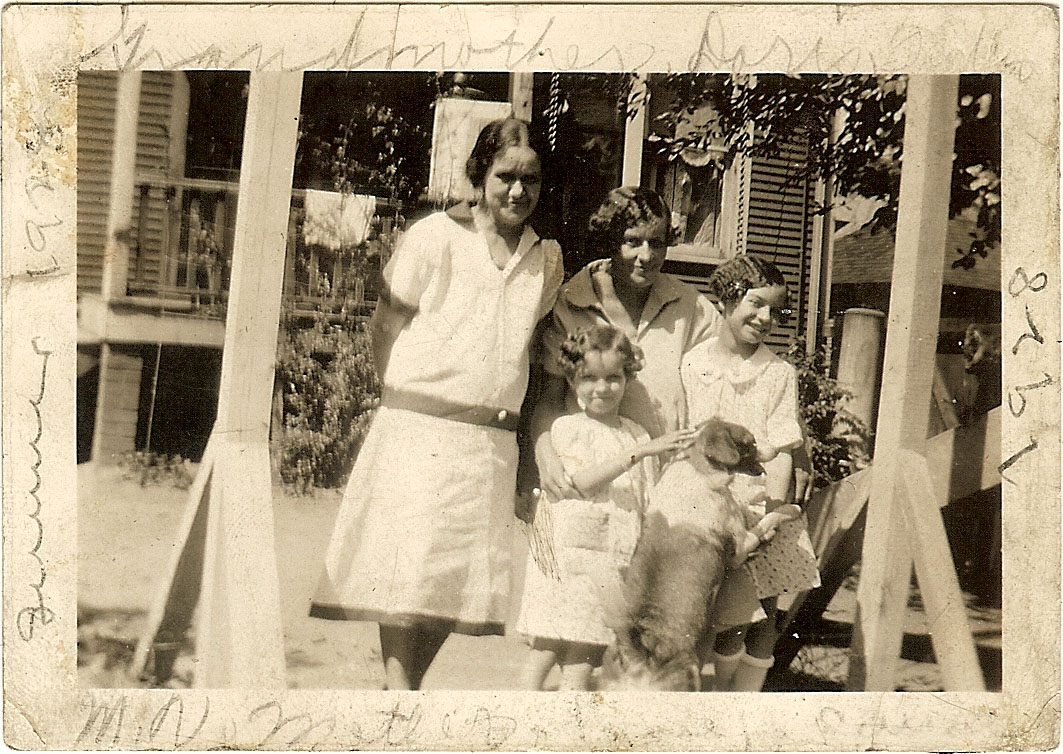 Grandmother, Doris, Mother, M.V.