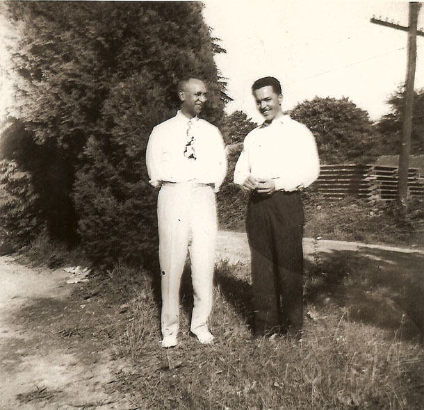 Richard and Henry Cleage - cousins.