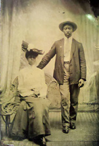 Tintype of an African-American Couple. From: Auction Finds