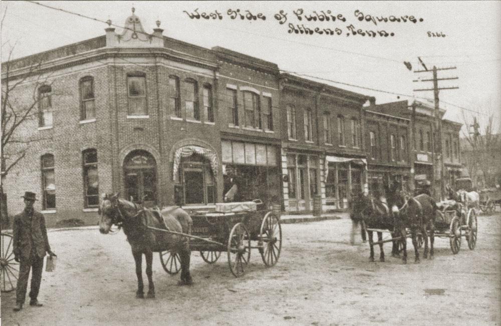 horse wagon:1900
