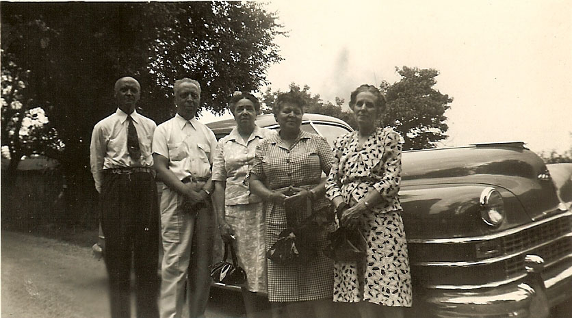 Henry, Albert, Gertrude, Ola and Pearl Cleage.