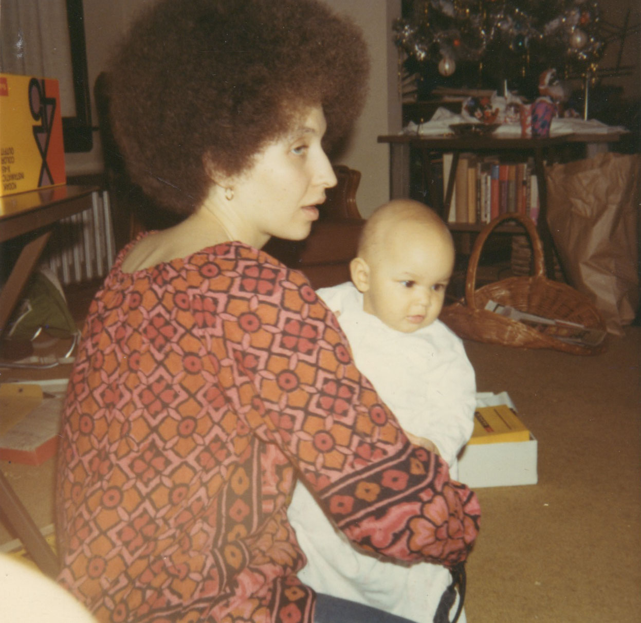 December 1970. Me and my oldest daughter.