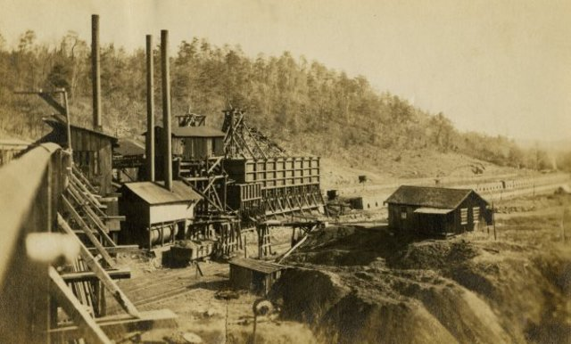 """An undated photographs shows the Dayton Coal and Iron Co., founded in 1867 by English Industrialist Sir Titus Salt. (Rhea County Historical Society)"