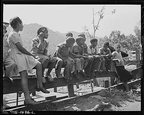Miner's children.
