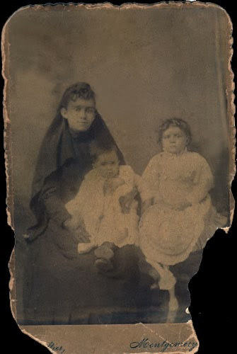Great grandmother with Daisy and Fannie