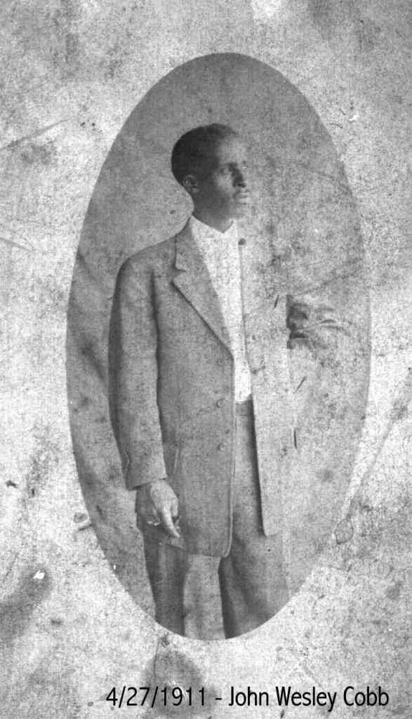 John Wesley Cobb. Photo curtsey of