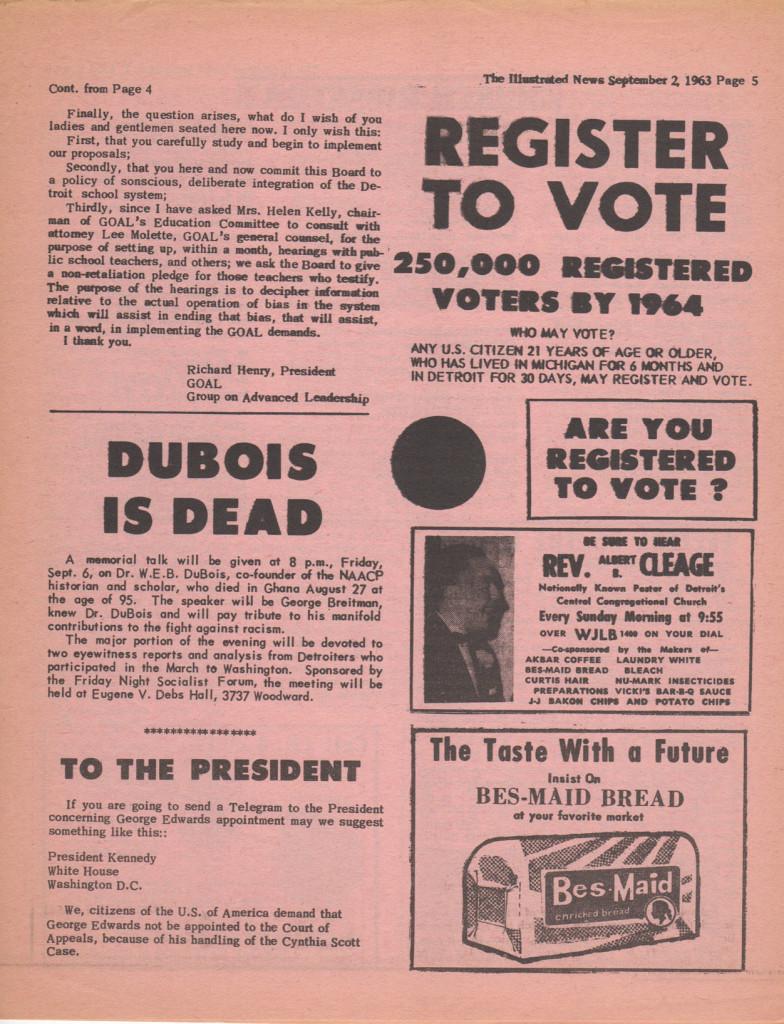 illustrated news sept 2 1963 pg5