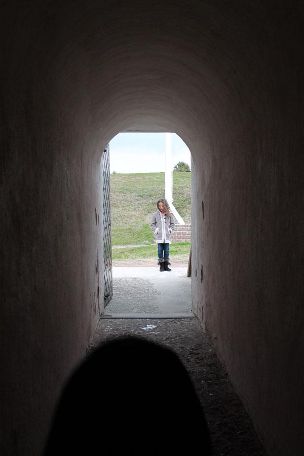 tunnel at Sullivan's island