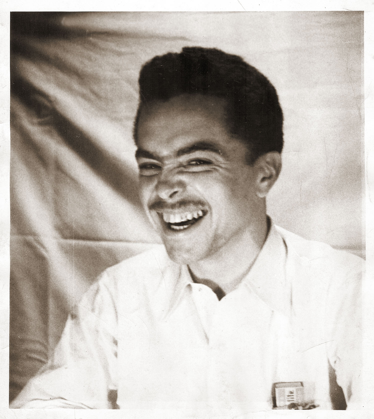 henry laugh sepia