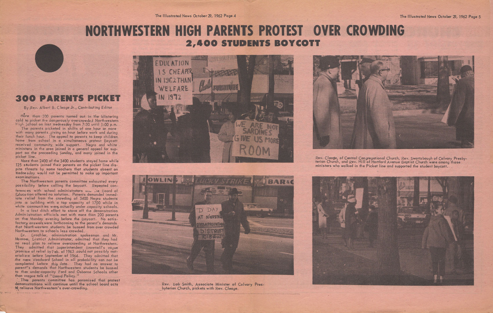 Parents Protest NW centerspread